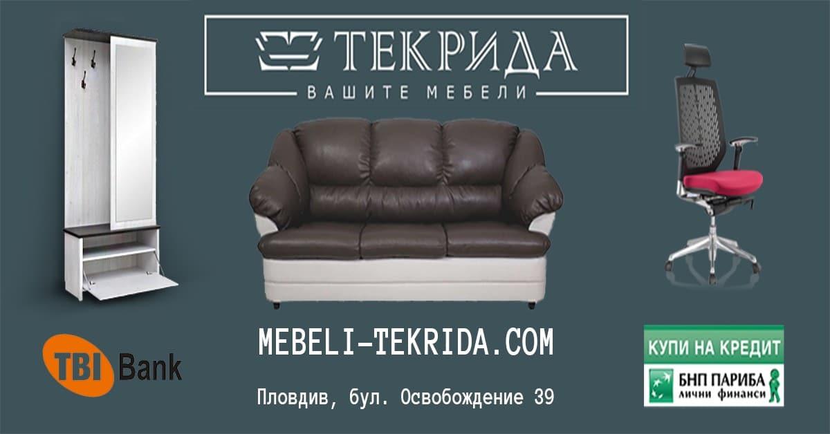 Изработка на онлайн магазин за мебели Mebeli-Tekrida.com