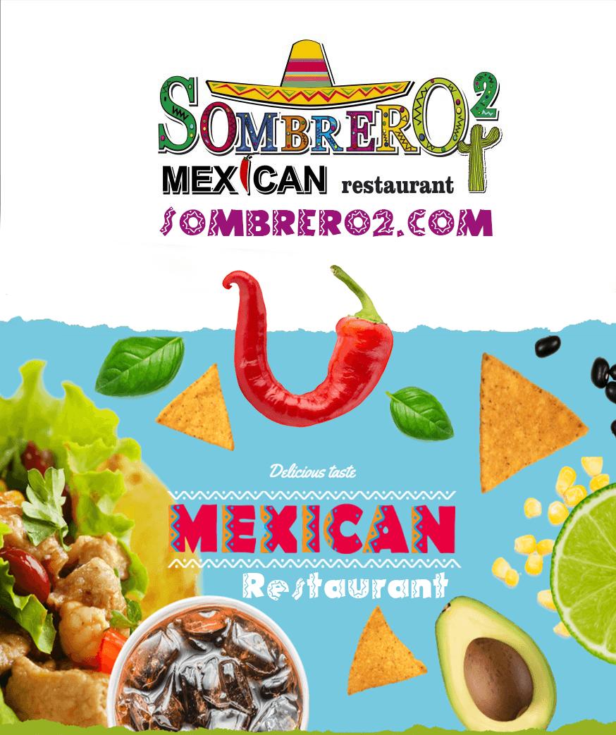 Изработка на сайт за Мексикански Ресторант Sombrero2.com